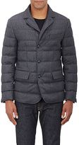 Moncler Men's Down Flannel Three-Button Sportcoat