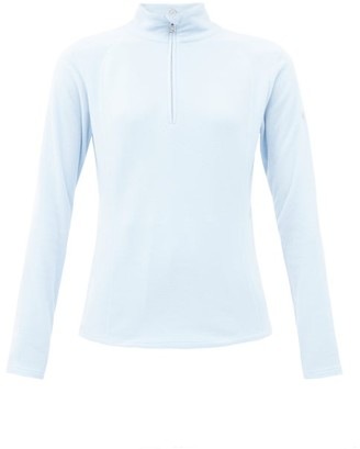 Bogner Madita Zipped High-neck Fleece Jacket - Light Blue