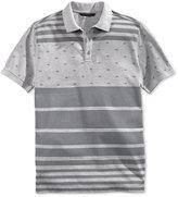 Sean John Men's Flag Stripe Polo Shirt