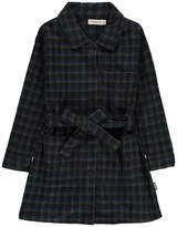 Imps & Elfs Organic Cotton Belted Tartan Dress