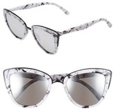 Quay 'My Girl' 50mm Cat Eye Sunglasses