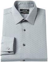 Apt. 9 Men's Slim-Fit Patterned Stretch Spread-Collar Dress Shirt