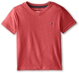 Tommy Hilfiger Tommy CVC V-Neck Tee (Toddler/Little Kid)