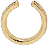 Maria Black Gold and Purple Colore Ear Cuff