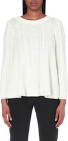 Claudie Pierlot Magnetique cotton-blend jumper