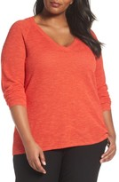 Eileen Fisher Plus Size Women's Organic Linen & Cotton Top