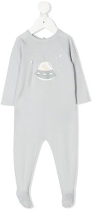Bonpoint Spaceship Print Pajamas