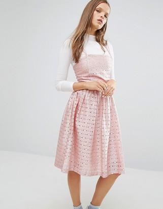 Asos Style Nanda STYLENANDA Prom Party Dress-Pink