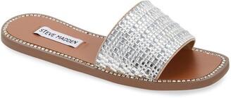 Steve Madden Nira Embellished Slide Sandal