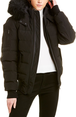 Moose Knuckles Midweight Down Bomber Jacket
