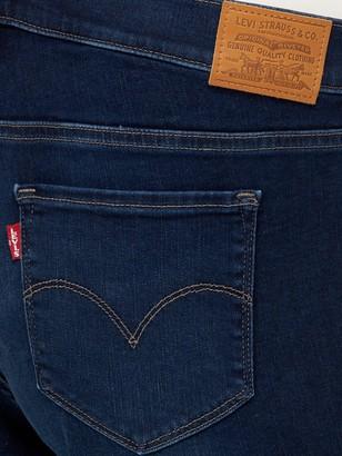 Levi's Plus Classic Bermuda Shorts - Blue
