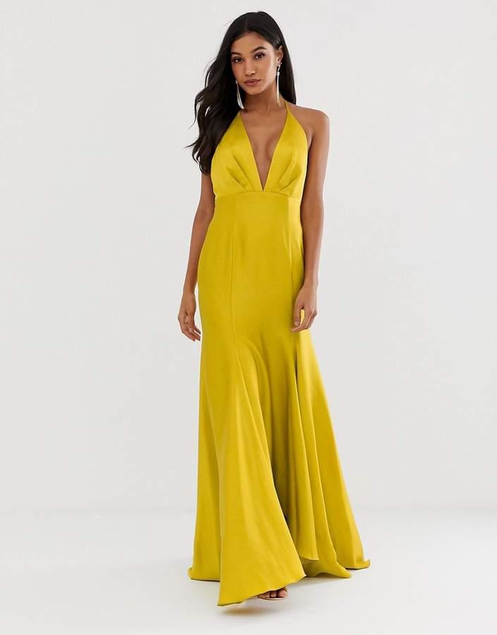9d257c15252c Asos Halter Maxi Dresses - ShopStyle
