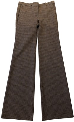 Theory Brown Cloth Trousers