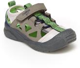 Osh Kosh Boys' Sandals GY - Gray Emon Bump Toe Sandal - Boys