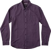 RVCA Men's That'll Do Twist Long Sleeve Woven Shirt