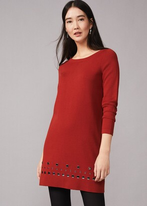 Phase Eight Selika Stud Hem Dress