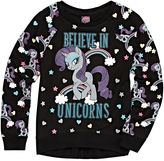 My Little Pony Crew Neck Long Sleeve Blouse - Big Kid Girls