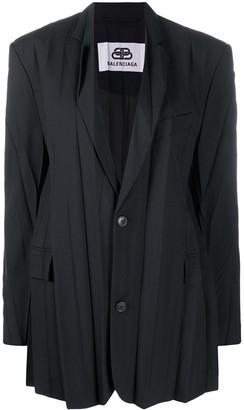 Balenciaga Plissee pleated jacket
