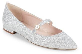 Sarah Jessica Parker Vow Metallic Sparkle Flats