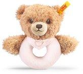 Steiff 12cm Sleep Well Bear Grip Toy (Pink) by