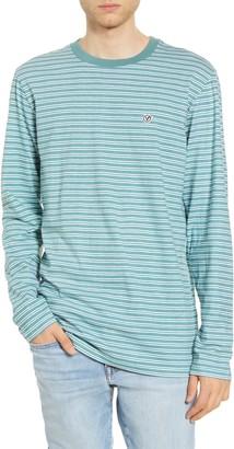 Vans Desert Trip Longline Stripe Long Sleeve T-Shirt