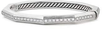 David Yurman Wellesley Faceted Bracelet with Diamonds