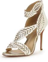 Forever Unique Serenity Ivory Occasion Heeled Sandal