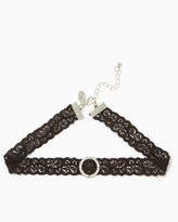 Charming charlie Backstage Lace Choker Necklace