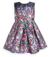 Oscar de la Renta Toddler's, Little Girl's & Girl's Mikado Pleated Dress