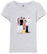 Petit Bateau Girls T-shirt with motif