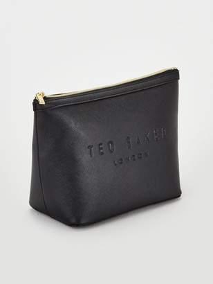 Ted Baker Large Nance Trapeze Wash Bag - Black