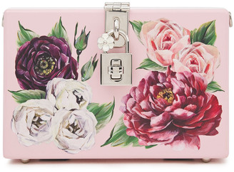 Dolce & Gabbana Dolce Box Painted Wood Clutch