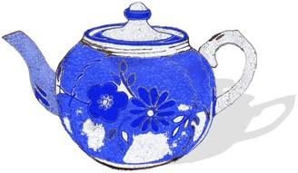 Jessica Russell Flint Mama's Teapot Signed Print