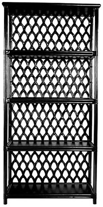 David Francis Furniture Casablanca Etagere - Black