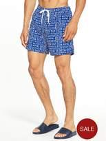 Calvin Klein Logo Print Swim Shorts