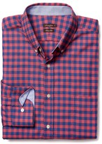 J.Mclaughlin Westend Trim Fit Flannel Shirt in Check