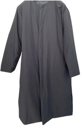 Issey Miyake Black Coat for Women