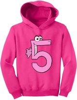 TeeStars - Five Years Old Girl Birthday Gift - I'm 5 Toddler Hoodie