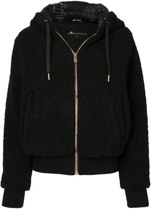Moose Knuckles Faux-Shearling Hooded Jacket