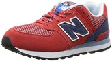 New Balance KL574 Summit Pre Running Shoe (Little Kid)