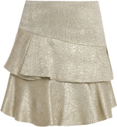 Paul & Joe Lk36 Brocade Ruffle Skirt