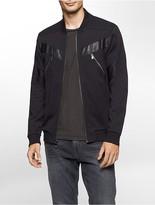 Calvin Klein One Slim Fit Zip Bomber Sweatshirt