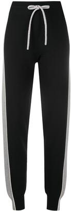See by Chloe Side-Stripe Track Pants