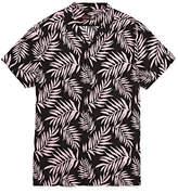 Jf J.Ferrar Jf Casualization Short Sleeve Camp Shirt-Slim