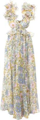 Zimmermann Super Eight Ruffle Gown Dress