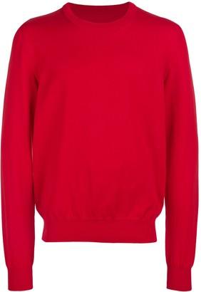 Maison Margiela Contrast Elbow-Patch Sweatshirt
