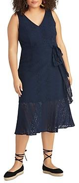 Rachel Roy Plus Josephine Lace Midi Dress
