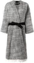 Isabel Marant 'Iban' tweed coat - women - Cotton/Polyamide/Wool - 38
