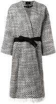 Isabel Marant 'Iban' tweed coat - women - Wool/Polyamide/Cotton - 36