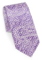 Bugatchi Geometric Paisley Silk Tie